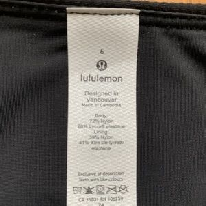 lululemon athletica Swim - Lululemon black bikini swim bottoms